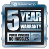 5 Years warranty web
