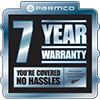 7 Years warranty web
