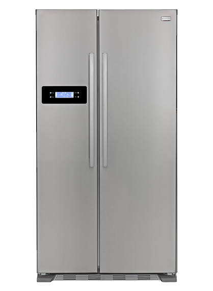 580L Fridge Freezer, Double Door, S/Steel appearance (DISCONTINUED)