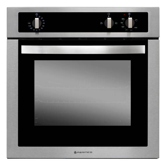 600mm Gas Oven, 4 Function, Stainless Steel
