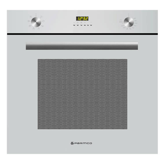600mm 70Litre Oven, 8 Function, White (DISCONTINUED)