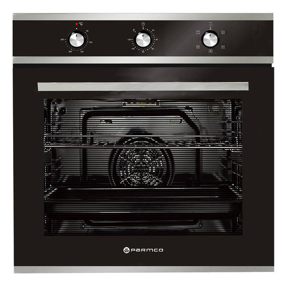 600mm 76Litre Oven, 5 Function, Stainless Steel