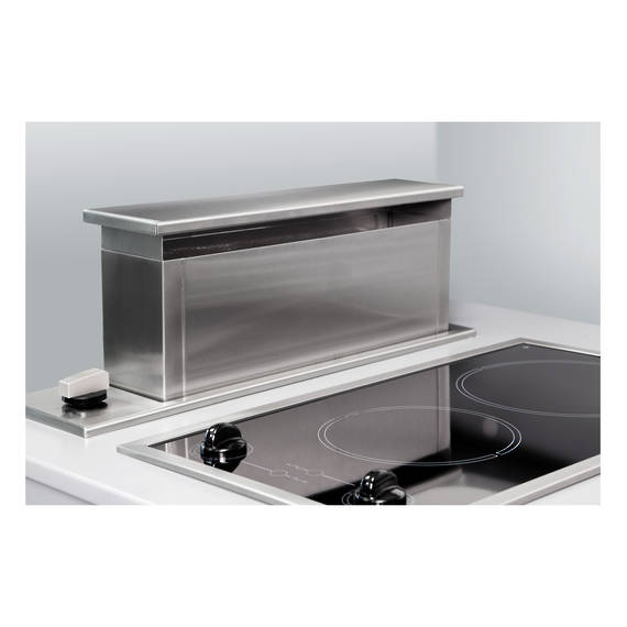 600mm Side Riser Downdraft, One Side (DISCONTINUED)
