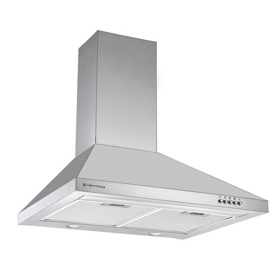 600mm Styleline Canopy, Stainless Steel, LED
