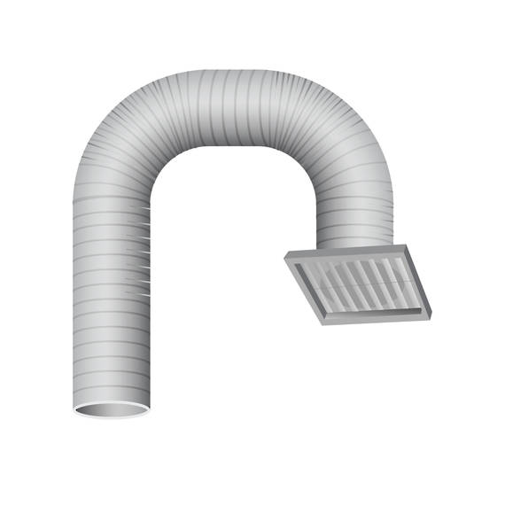 Rangehood Ducting Kit SOFFIT 150mm