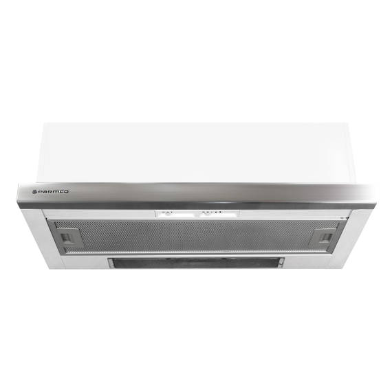 600mm Telescopic Milano Rangehood, Air Capacity Up To 440m3/hour (DISCONTINUED)