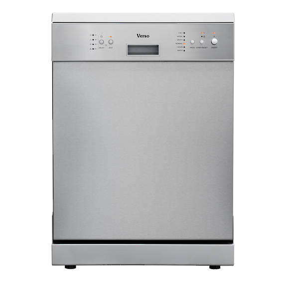 VERSO 600mm Freestanding Dishwasher, Stainless Steel (DISCONTINUED)