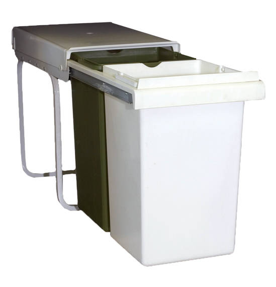 Telescopic Double Bin, Pull Out