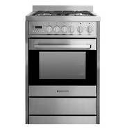 600mm Combination Freestanding Stove, Stainless Steel (DISCONTINUED)