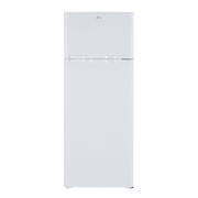 206L Fridge Freezer, Top Mount, White