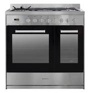 900mm Combination Freestanding Stove, 1 & 1/2 Ovens, Stainless Steel (DISCONTINUED)
