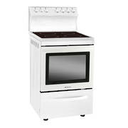 600mm Freestanding Stove, Ceramic, White (DISCONTINUED)