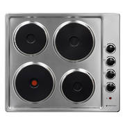 600mm Hob, 4 Element, Electric, Stainless Steel  (DISCONTINUED)