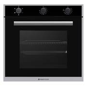 600mm 70Litre Oven, 5 Function, Stainless Steel