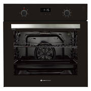 600mm 76Litre Oven, 8 Function, Black