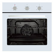 600mm 76Litre Oven, 5 Function, White