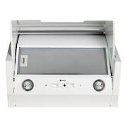 600mm Tilta Front Rangehood, White, Air Capacity Up To 1000m3/hour