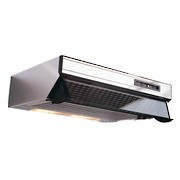 600mm Glass Front Caprice Rangehood, Twin Motor, Stainless Steel