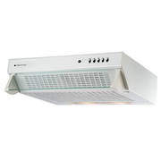 600mm Glass Front Caprice Rangehood, White