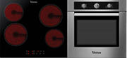 Verso 3 Pack 600mm Oven, 5 Function, Stainless Steel and 600mm Ceramic Cooktop (DISCONTINUED)