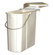 Rectangular Hinged Bin, Door Mounted, Slim (DISCONTINUED)
