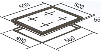 HX-1-6NF-INDUCT dimensions web