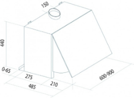 T1-6HT dimensions
