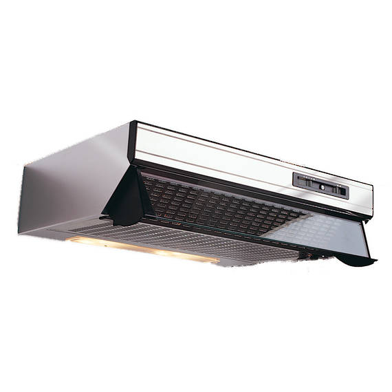 600mm Glass Front Caprice Rangehood, Single Motor, Stainless Steel