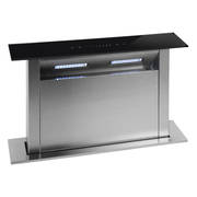 600mm Rear Riser Downdraft, Glass