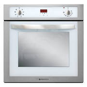 600mm Elegante Oven, 8 Function, White (DISCONTINUED)