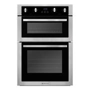 600mm Double Oven, 8 + 4 Function, Stainless Steel