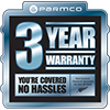 3 Years warranty web clearcut