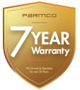 7 Years warranty gold web
